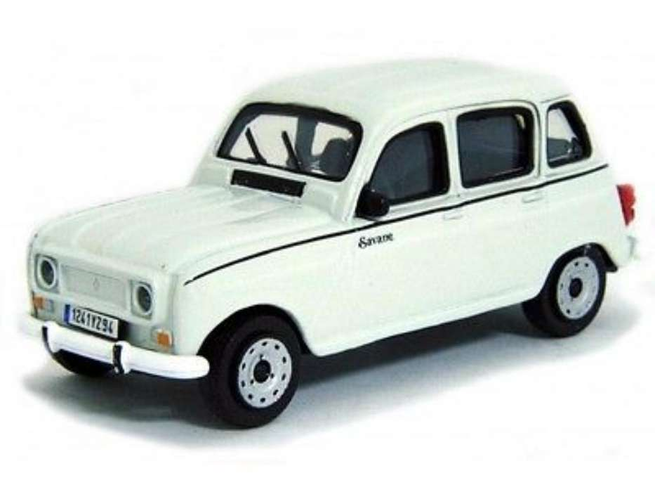 Renault 4 Scale 1/43 Die Cast Collection