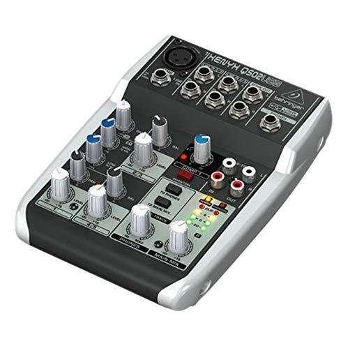 MIX BEHRINGER QS02 USB micrófono NW 800