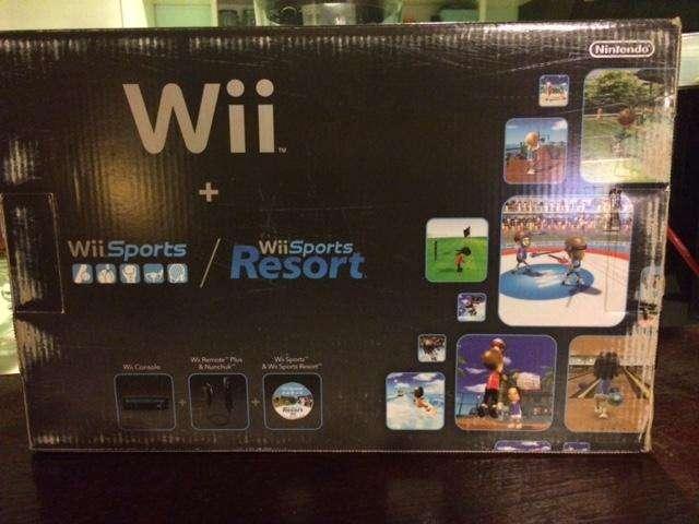 Wii con wii sports