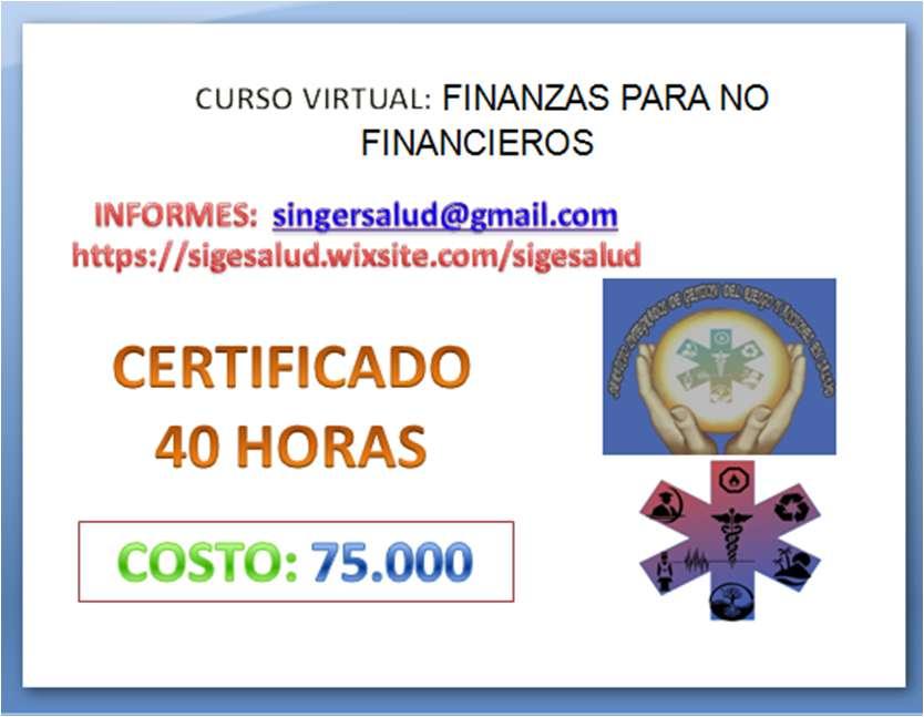 75.000 CURSO VIRTUAL FINANZAS PARA NO FINANCIEROS