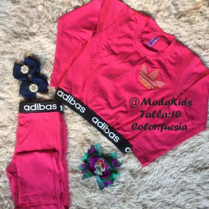 Venta de <strong>ropa</strong> de Niña Conjunto Adidas