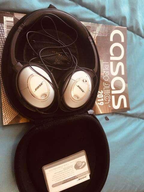 Vendo Audífonos Bose QC15 y Beats studio IPAD retina, Celular A10 juego de comedor