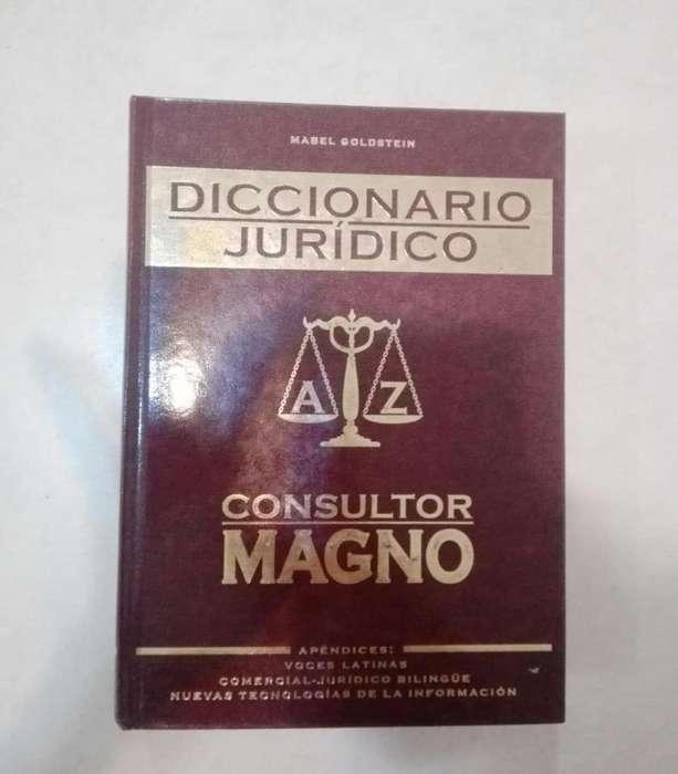 Abogacía - Diccionario Jurídico - Mabel Goldstein - Tapa Dura