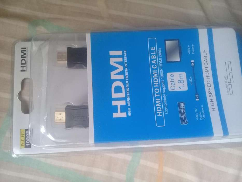 <strong>cable</strong> full HDMI 18 metros support 1080P compatible con PS3