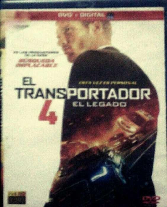 El Transportador 4 Película en Blu Ray