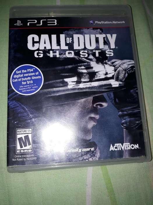 Vendo Call Of Duty Ghosts Esta 10 de 10