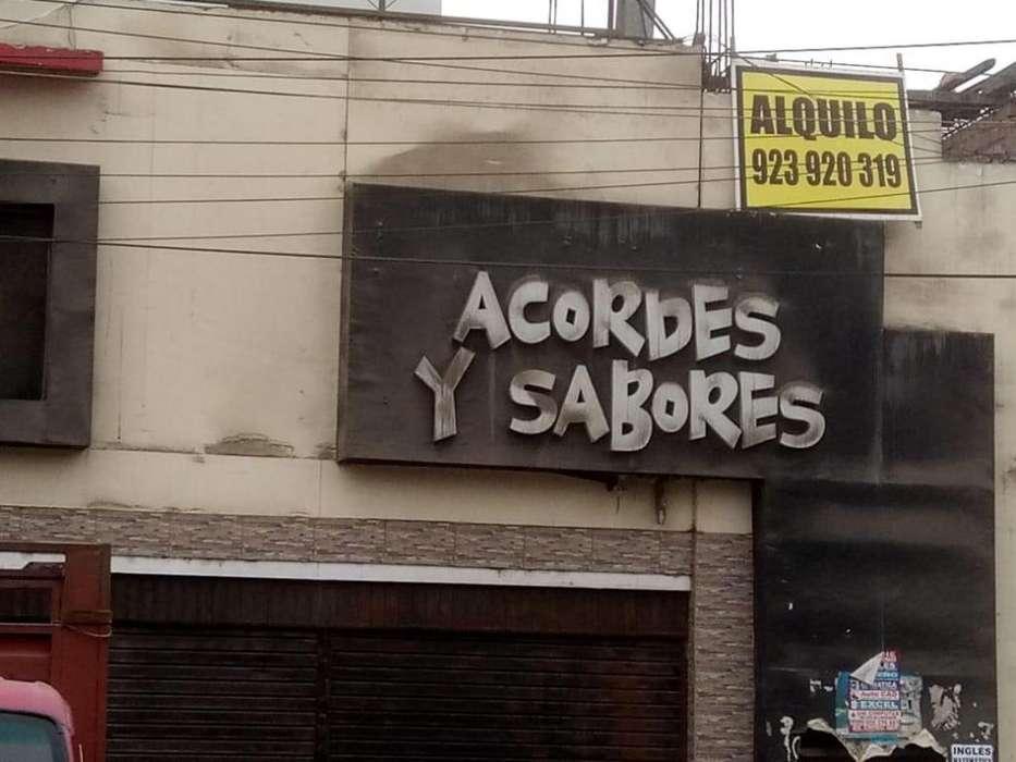 Boulevar de Zárate Alquiler de Local Comercial en San Juan De Lurigancho