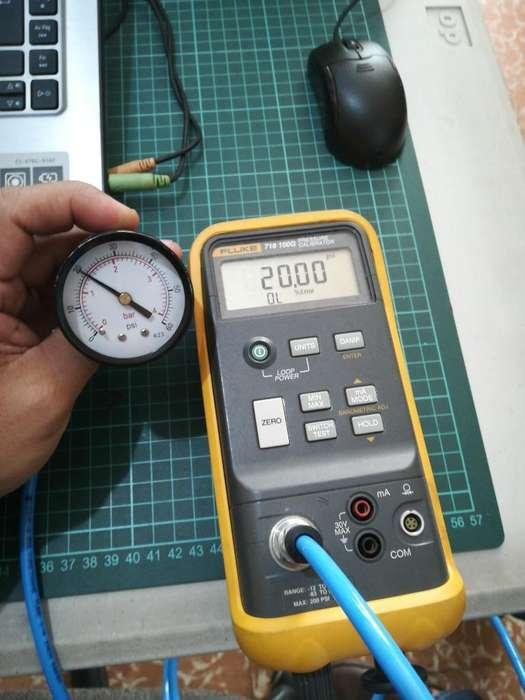 Calibrador de Presion Fluke 718 -100g