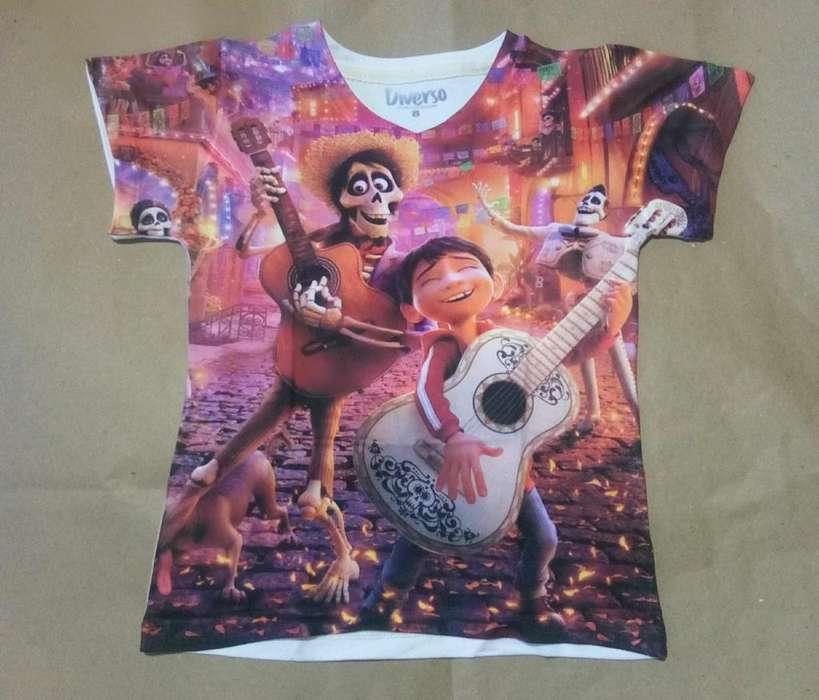 Camiseta Coco para Ellas