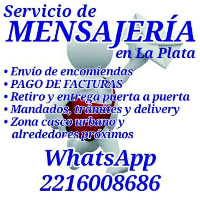 Mensajería en La Plata