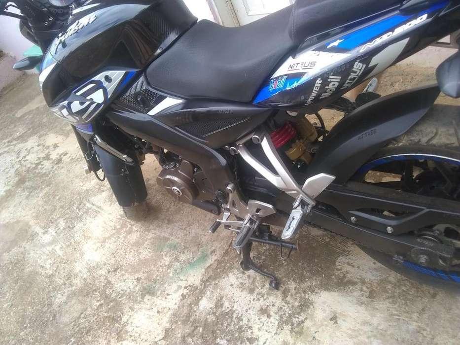 Vendo Moto Pulsar 200 Como <strong>nueva</strong>