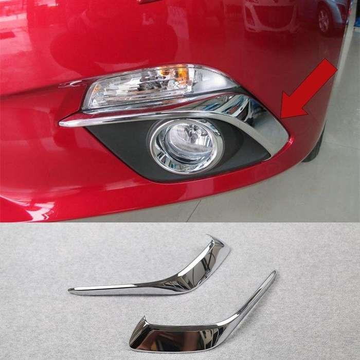 Boceles Cromados Para Exploradoras <strong>accesorios</strong> Mazda 3 2015-16