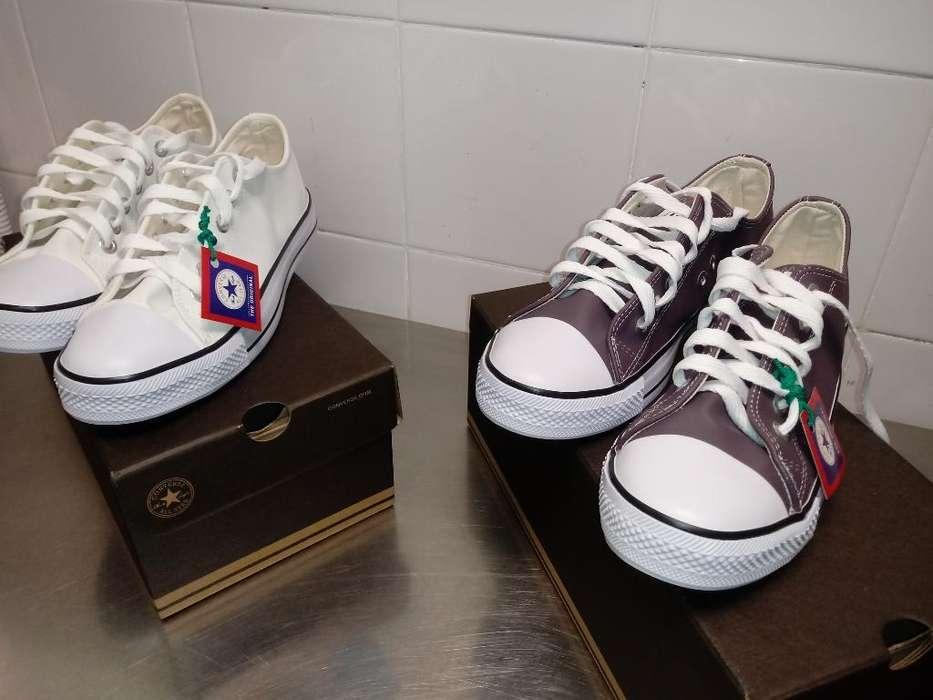 Zapatillas en Ecocuero Del 35 Al 42