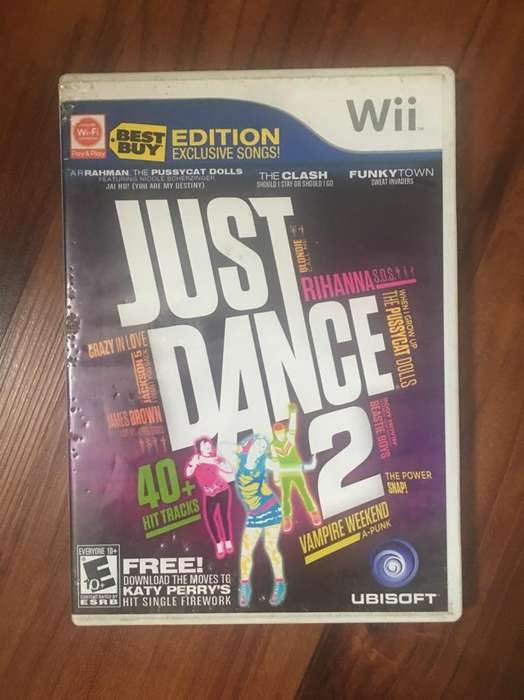 Just Dance 2 Juego Wii
