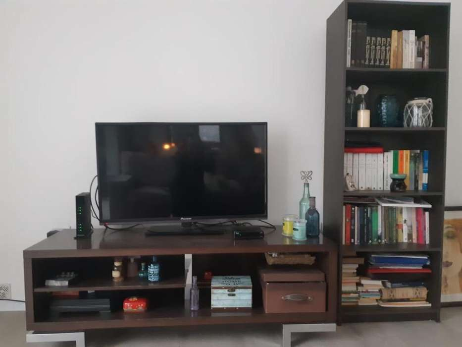 Mueble Rack para Tv Y Bibloteca