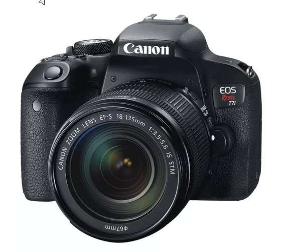 Canon Eos Rebel T7i Kit Lente 18-135mm Wifi Perfecto Estado