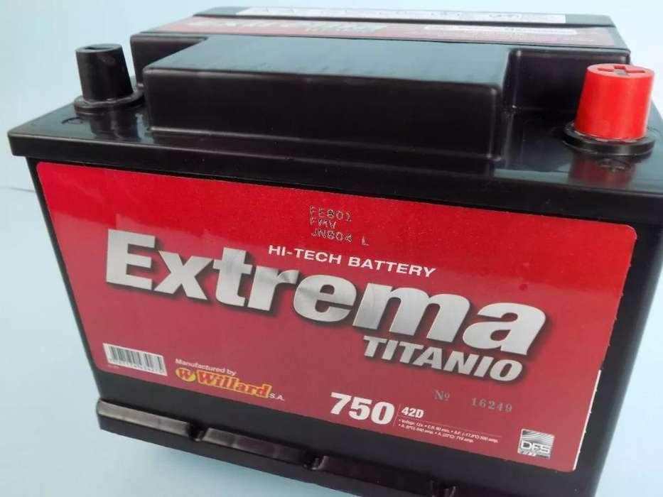 Bateria 750, Logan, Sandero. Ford, Kia