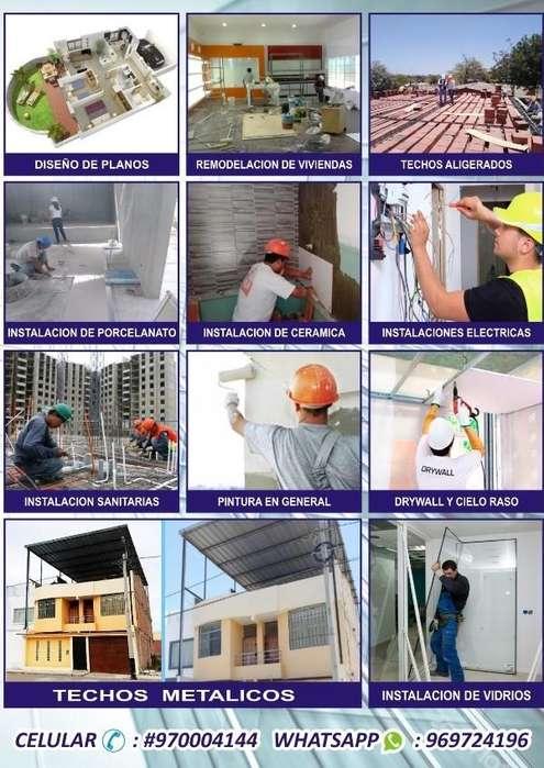 SERVICIOS GENERALES (Construcción)