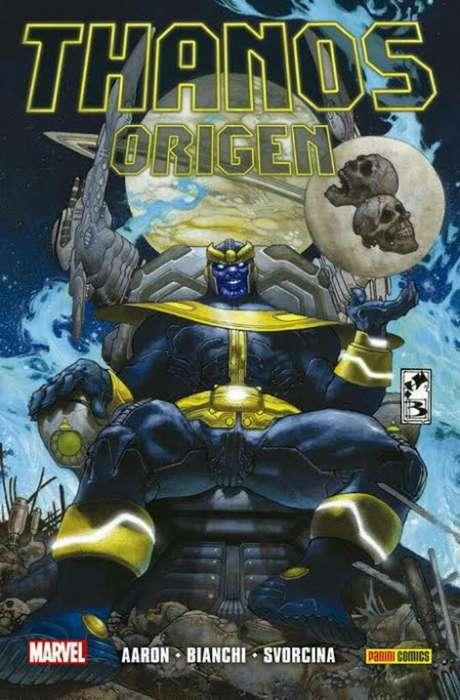 Thanos El Origen Tapa Dura Cómic
