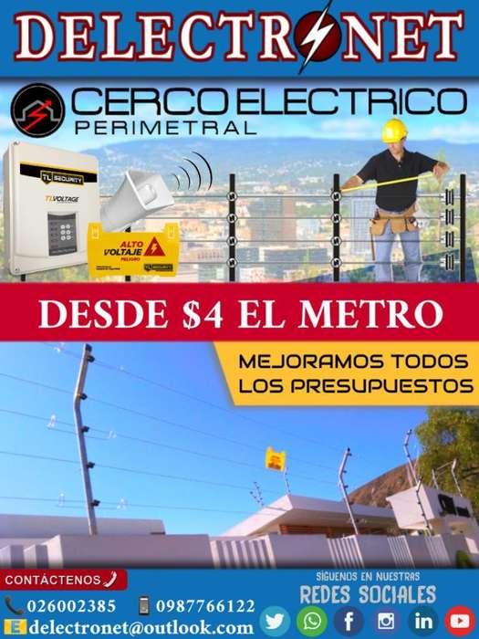 Cerca Eléctrica Segura Profesional