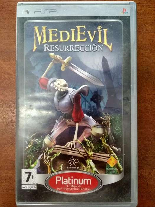 Juego MediEvil Resurrection PSP Original