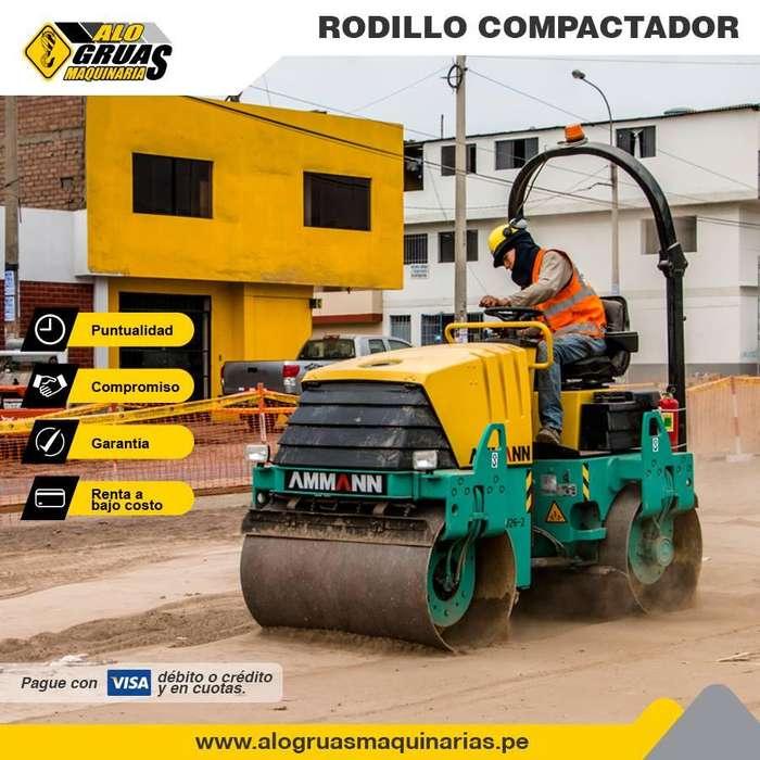 ALQUILER DE RODILLO COMPACTADOR, RETROEXCAVADORA, MINICARGADORES