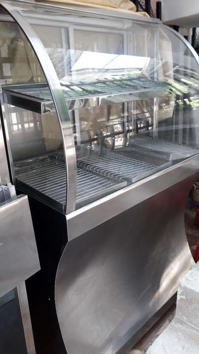 Vitrina de Calefacción para Broaster