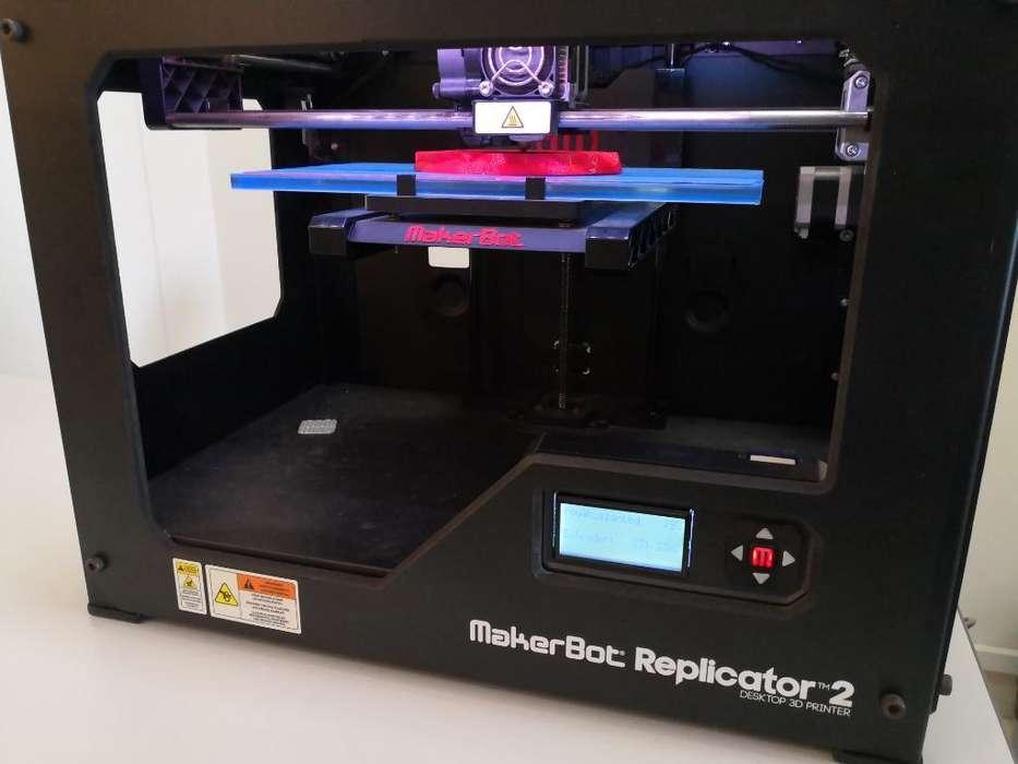 Vendo Impresora 3d Makerbot Replicator 2