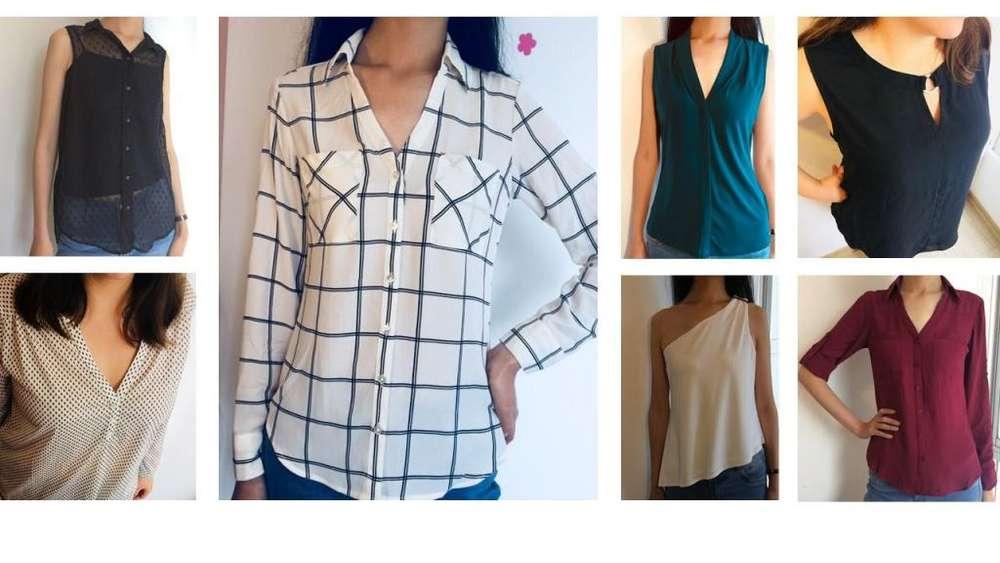 Blusas, Chaquetas, Ropa Americana de Marca Calvin Klein Express entre otros