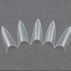 Tips curvatura C de 500 unidades para manicure.