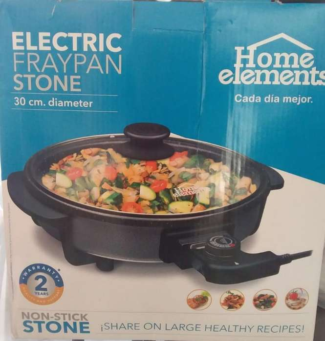 Sarten Eléctrico Stone Home Elements