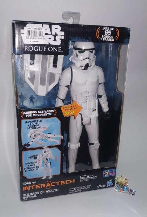 Soldado Imperial Star Wars Electrónico