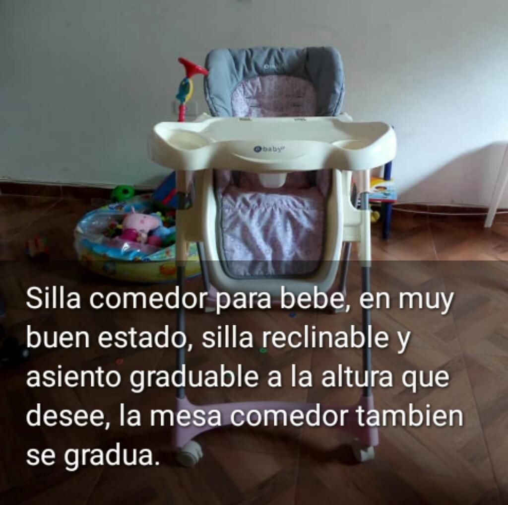 Sill Comedor, Reclinable