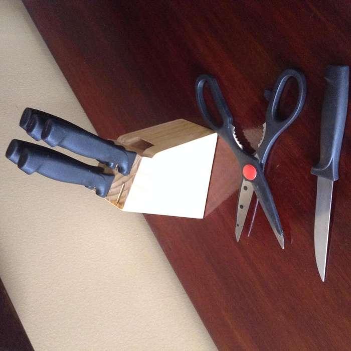 <strong>juego</strong> de cuchillos Ambienta 8 piezas