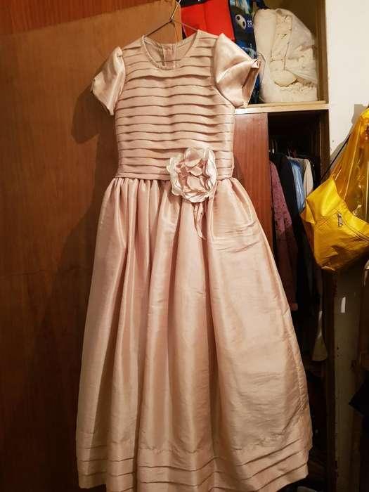Vestido de Fiesta para Niñas de 8 a 9