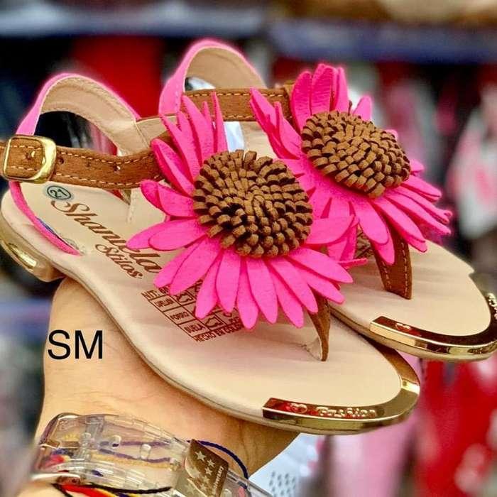 Sandalias para Niñas Girasole