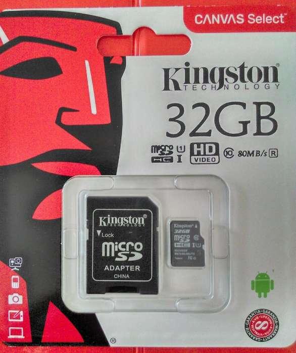 Memoria Micro SD Kingston Canvas 32GB Clase 10 UHSI Original
