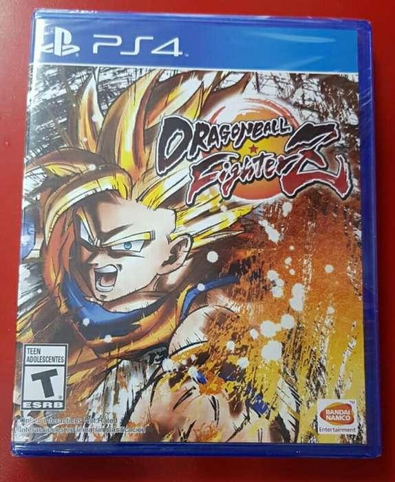 Dragon Ball Fighterz Fighter Z Ps4 Nuevo