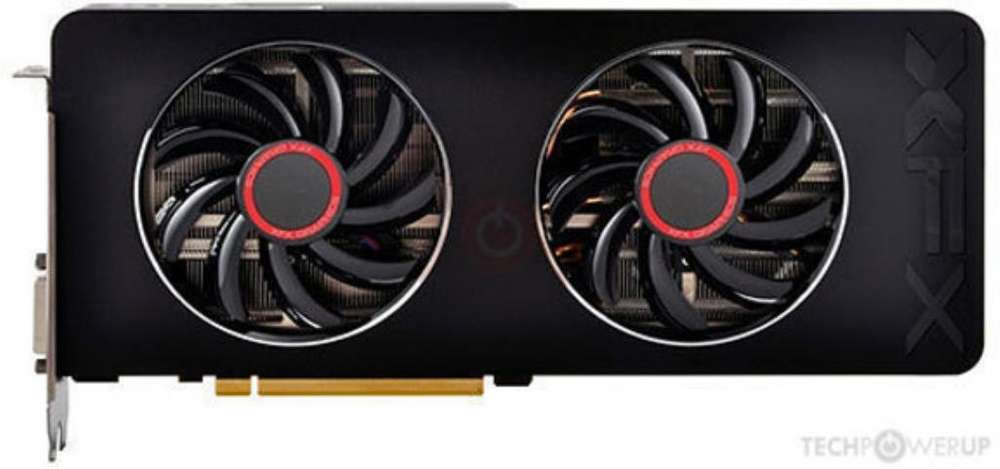 Placa de Video Amd Xfx R9 280x Dual Fan