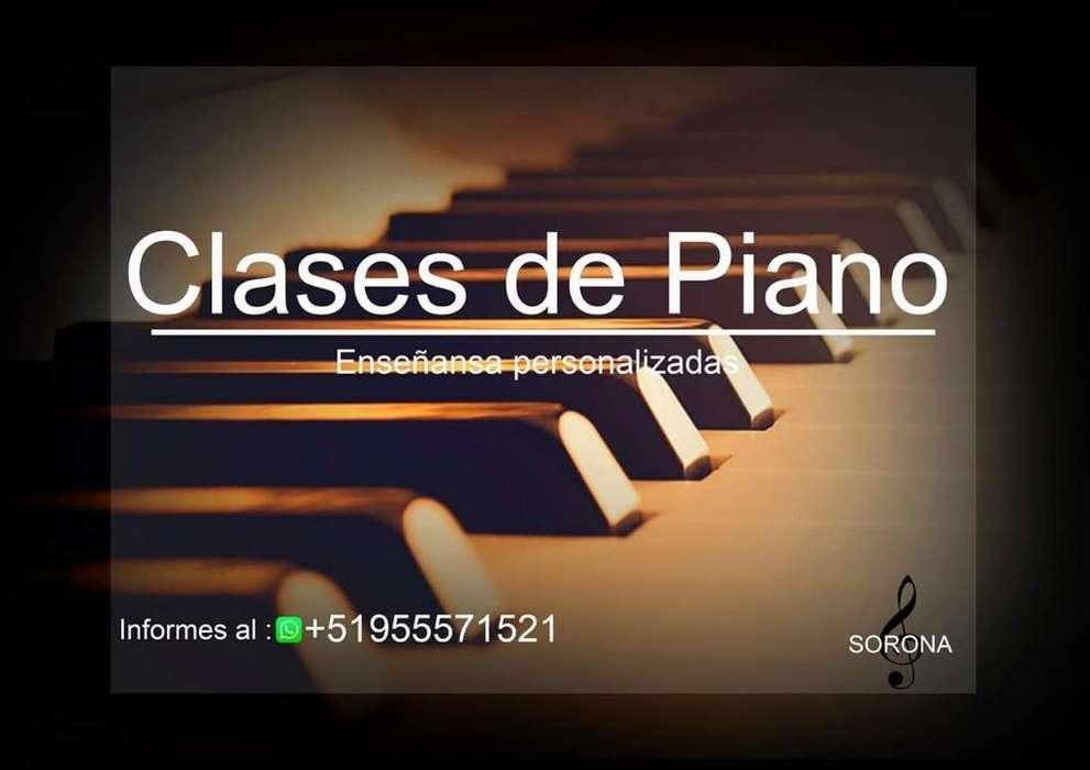 Clases de Piano Y Música.