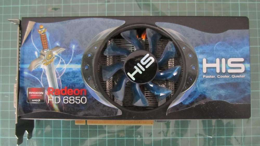 Placa de Video Amd Radeon Hd 6850 His 1gb Ddr5