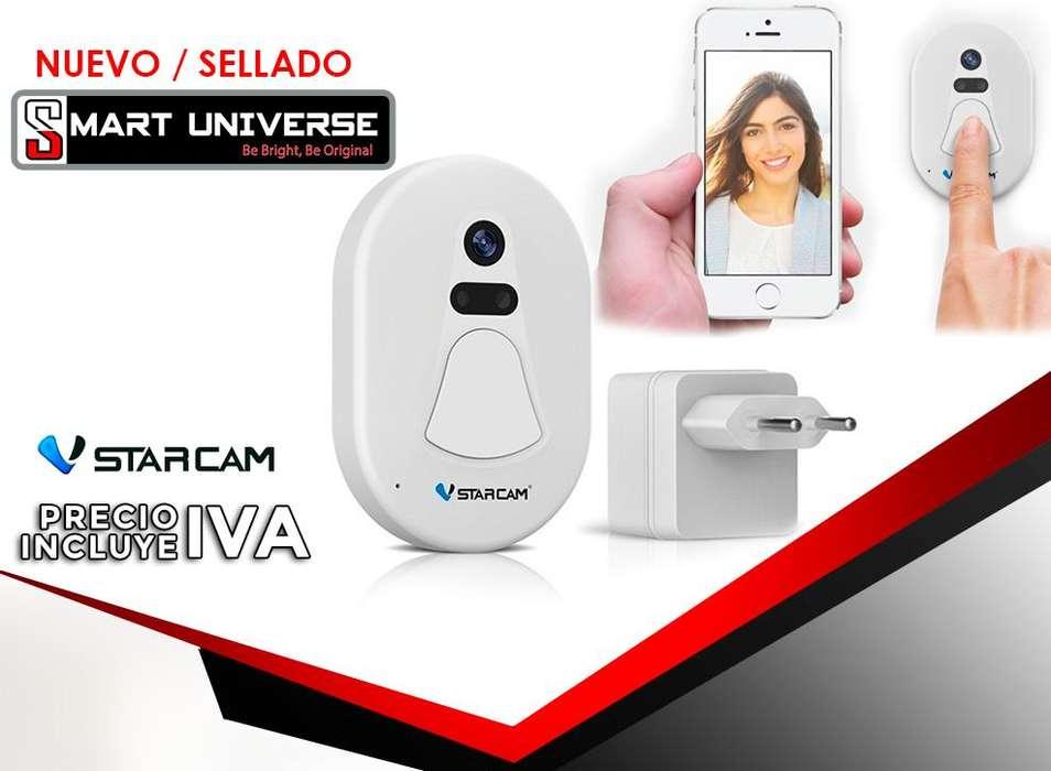 Timbre Camara Alarma Wifi Hd Inalambrica Vstarcam D1