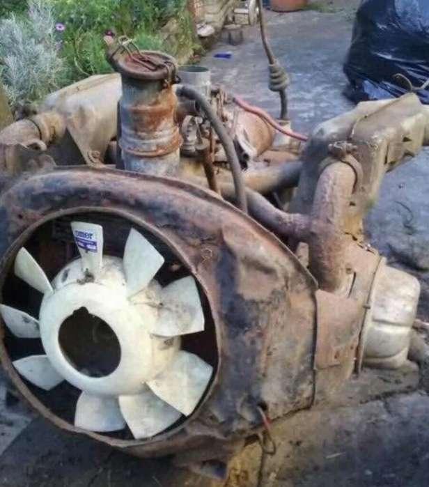Motor Y Caja ( 3 Cv)