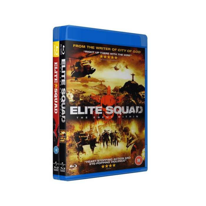 Elite Squad Tropa De Elite 1 2 Bluray Latino/portugues