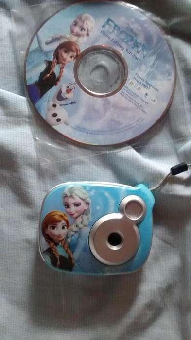 Cámara <strong>digital</strong> Frozen 2.1mp De Disney