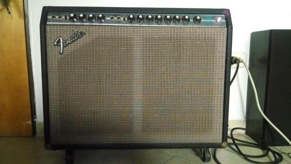 Amplificador Guitarra Fender Twin Reverb 75