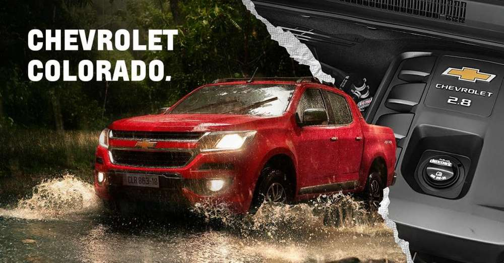 Chevrolet Colorado 2018 - 0 km