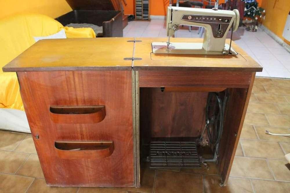 Vendo Máquina De Coser Singer 669 A Pedal