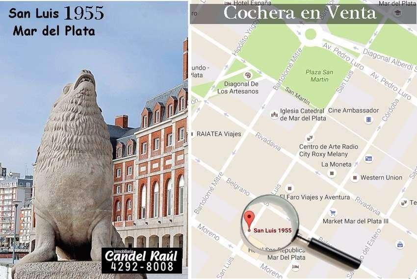 Cochera en venta en Mar del Plata Centro