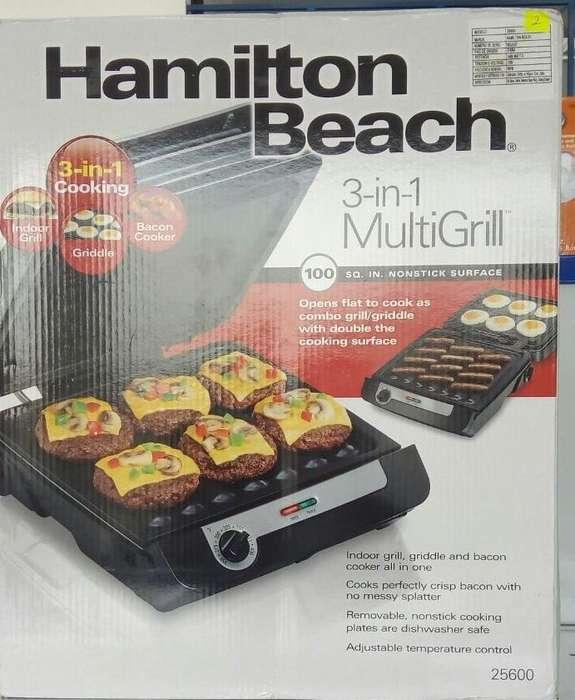 MULTI GRILL HAMILTON BEACH // MODELO 25600 //IMP. CHIMASA
